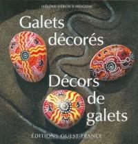 Galets décorés, décors de galets