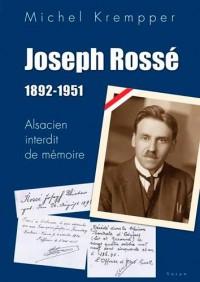 Joseph Rosse 1892-1951