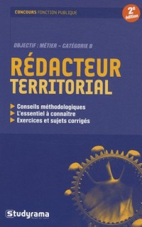 Rédacteur territorial