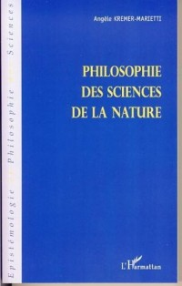 Philosophie des sciences de la nature