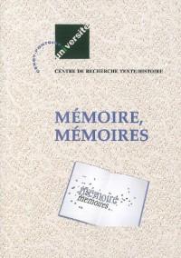 Mémoire,Memoires