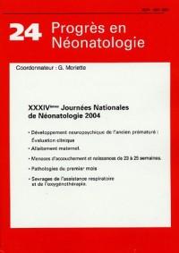 XXXIVèmes Journées Nationales de Néonatologie 2004