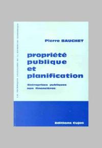 Propriété publique et planification