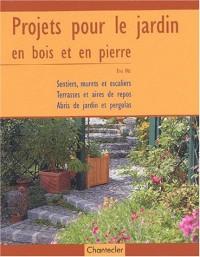 Projets pour le jardin en bois et pierre