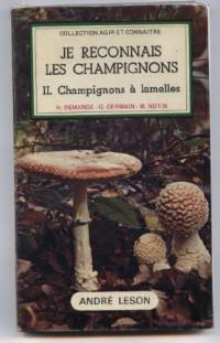 Je reconnais les champignons