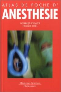 Atlas de poche d'anesthésie