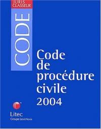 Code de procédure civile, édition 2004