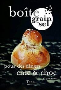 Boîte grain de sel pour dîners chic & choc
