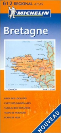 Atlas routiers : Bretagne, N°20612