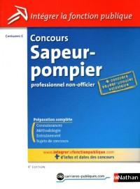 Concours sapeur-pompier professionnel non-officier - Catégorie C
