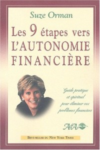Les 9 étapes vers l'autonomie financière