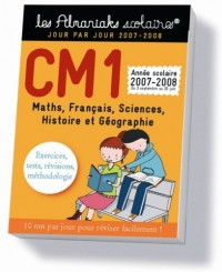 CM1 2007-2008 : 3 septembre 2007 au 30 juin 2008