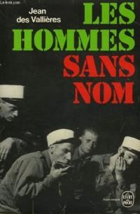LES HOMMES SANS NOM