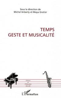 Temps, geste et musicalité