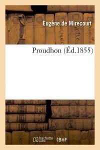 Proudhon  ed 1855