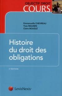 Histoire du Droit des Obligations (ancienne édition)
