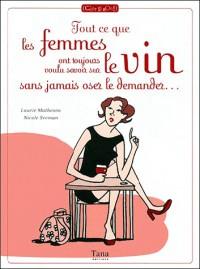 Tout ce que les femmes ont toujours voulu savoir sur le vin sans jamais oser le demander...