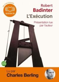 L'Exécution  (op) - Audio livre - 2CD AUDIO