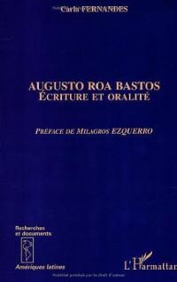 Augusto roa bastos. écriture et oralite