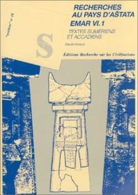 Textes Sumériens et Accadiens, 3 volumes : Recherches au pays d'Astata