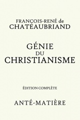 GENIE DU CHRISTIANISME - EDITION COMPLETE