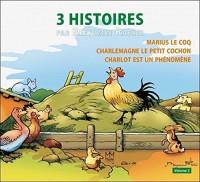 3 histoires par Benjamin Rabier - Vol 2