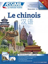 Le Chinois Pack CD (livre+4CD audio)