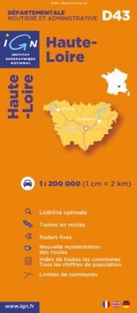 Haute-Loire : 1/200000