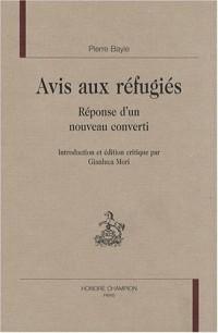 Avis aux réfugiés