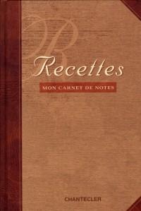 Recettes : Mon Carnet de Notes
