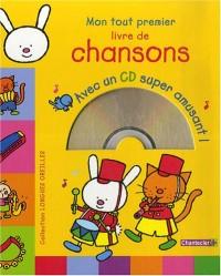 Longues oreilles : Mon tout premier livre de chansons avec CD (1CD audio)