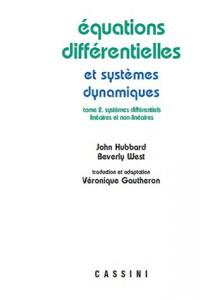 Equations différentielles et sytèmes dynamiques : volume 2