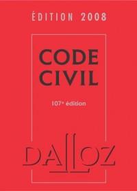 Code civil : Edition 2008