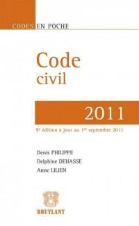 Code Civil 2011,Neuvième Edition