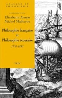 Philosophie écossaise et philosophie française (1750-1850)