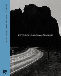 Carnet #9 : Petits paysages américains