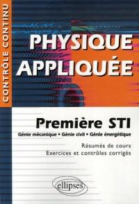 Physique appliquée, 1re STI : Génie mécanique, Génie civil, Génie énergétique