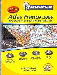 Atlas France : Routier et services utiles
