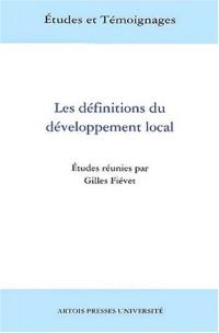 Les définitions du développement local