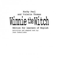 Winnie the witch : Edition for learners of English