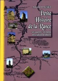 Petite histoire de la Rance (ses sources, ses bords, description et folklore)