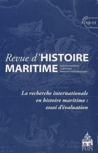 Revue d'histoire maritime, N° 10-11/2010