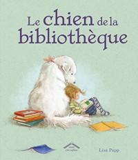 Le chien de la bibliothèque