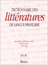 Dictionnaire littéraire de la langue française, de M à R, tome 3