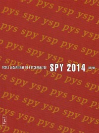 Spy 2014 - Revue Ecole Lacanienne