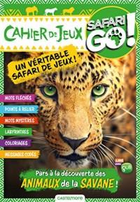Cahier de jeux léopard Safari Go !