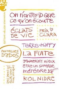 Nouvelles d'ados - Prix Clara 2016