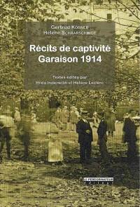 Récits de captivité : Garaison 1914