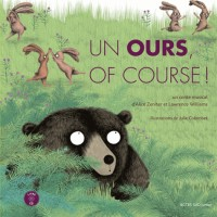 Un ours, of course ! (1CD audio)