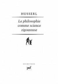 La philosophie comme science rigoureuse